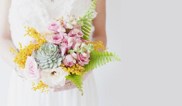 42個超美麗新娘捧花