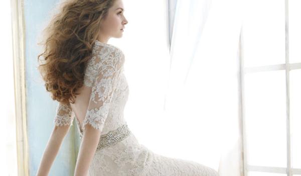 19件蕾絲婚紗設計