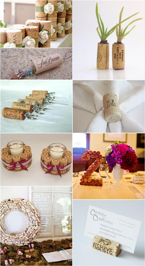 15 Ceative Wine Cork Designs - Praise Wedding