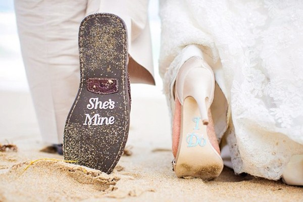 21對新郎新娘配搭鞋