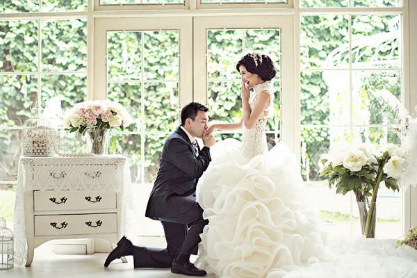 打造甜美公主風婚禮 – 34個波紋主題婚禮設計!
