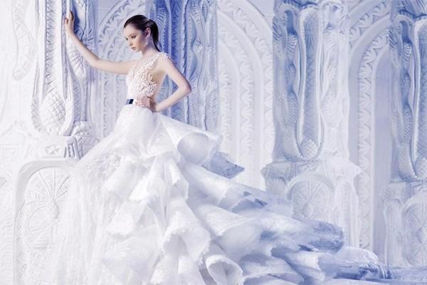 30款超震撼女王系婚紗