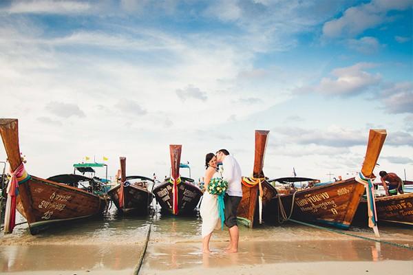 30張唯美海外婚禮&婚紗照