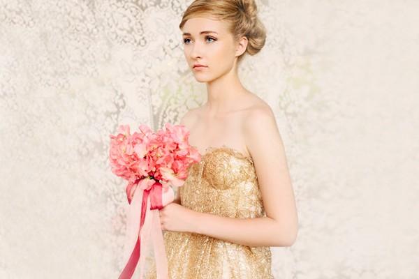 貴族氣質 金色系婚禮
