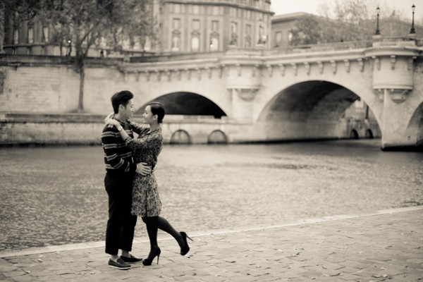 優雅浪漫 巴黎訂婚照 (Juliane Berry 作品)