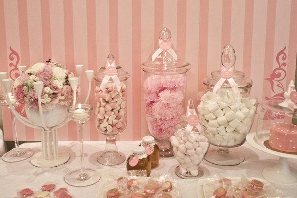 夢幻粉色系婚宴佈置 – 吉兒婚禮設計
