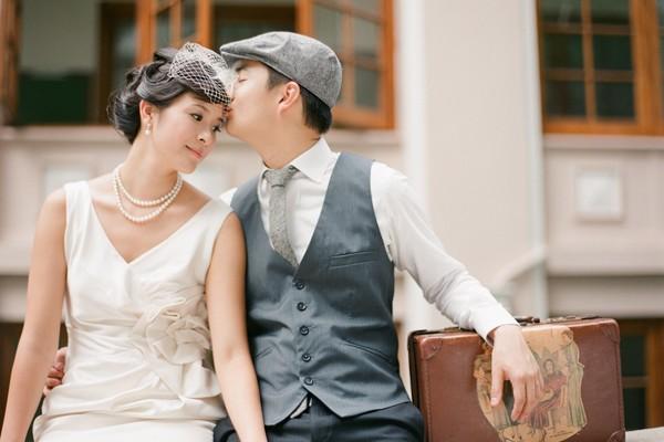 純淨復古訂婚照 (Isa Photography 拍攝)