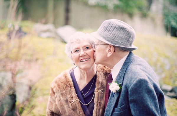 永恆的情人真愛紀錄! 第1- 60個結婚紀念日寫真!