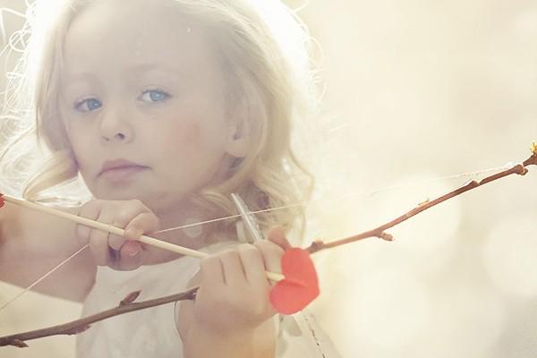 14張可愛情人節兒童寫真