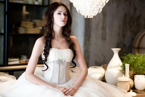 貴族風公主婚紗 – 仙杜麗娜