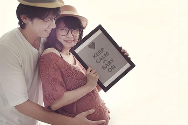幸福 +1 甜蜜孕婦寫真 – Sa Yang & Wei Chi