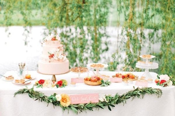 22個清涼夏季婚禮甜品