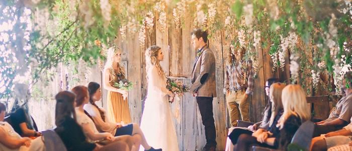 唯美浪漫 婚禮儀式佈置