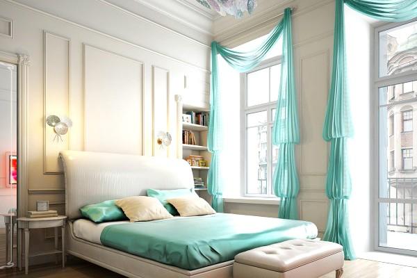 22個浪漫新人臥房設計