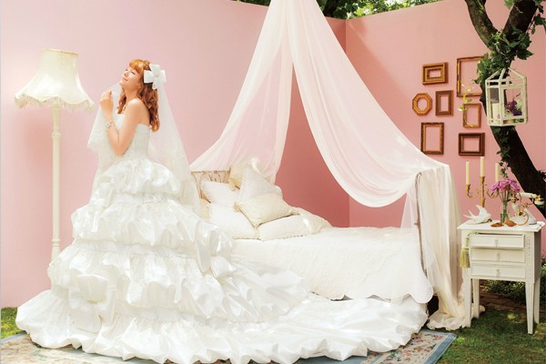 30件來自日本的可愛甜美公主風婚紗!