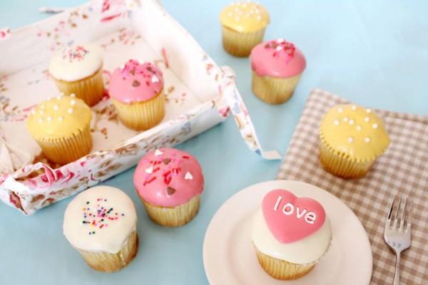 浪漫甜美杯子蛋糕 – 克勞蒂