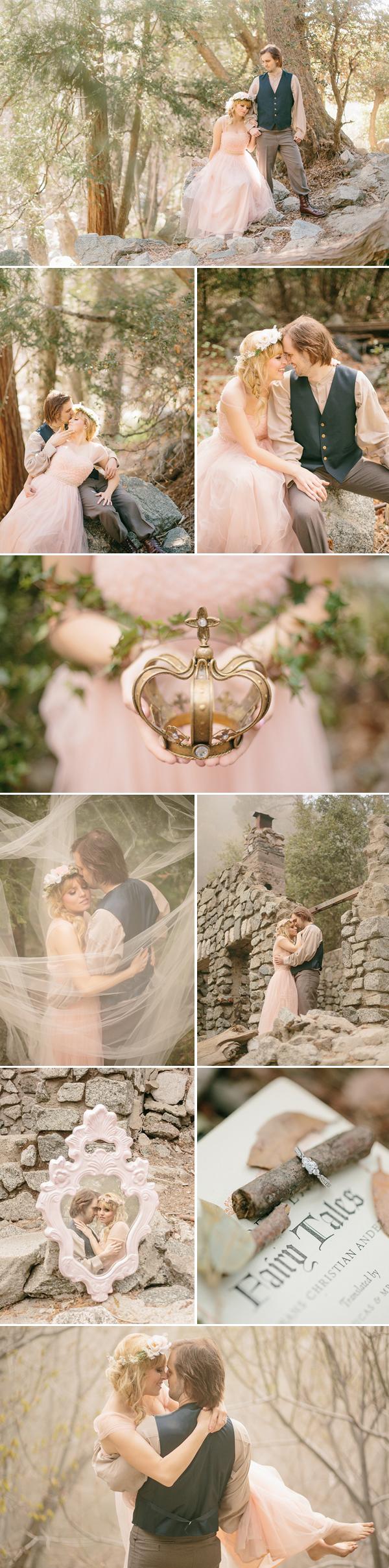 Enchanted Fairytale Engagement photo