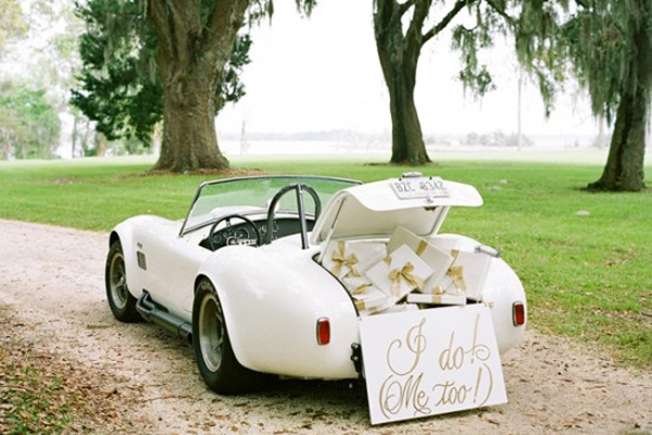 Vintage Wedding Getaway Cars Praise Wedding