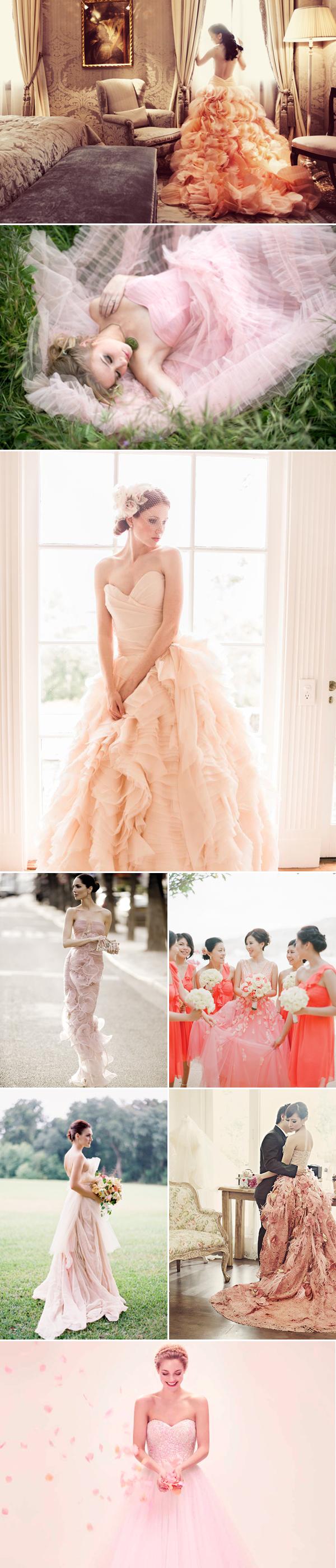Color wedding dresses02-pink