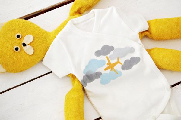 創意手工嬰兒服