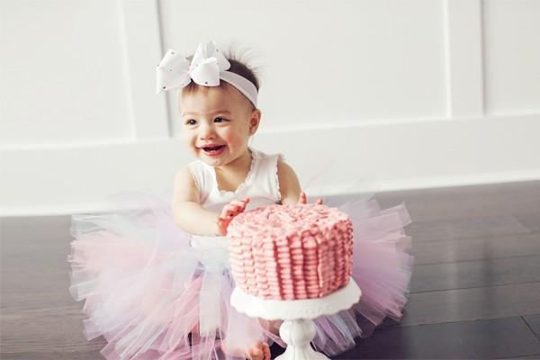Aria 的「異想花園」一歲生日派對