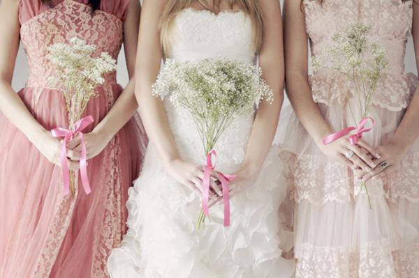 清新女孩的最愛! 甜美浪漫滿天星主題婚禮設計!