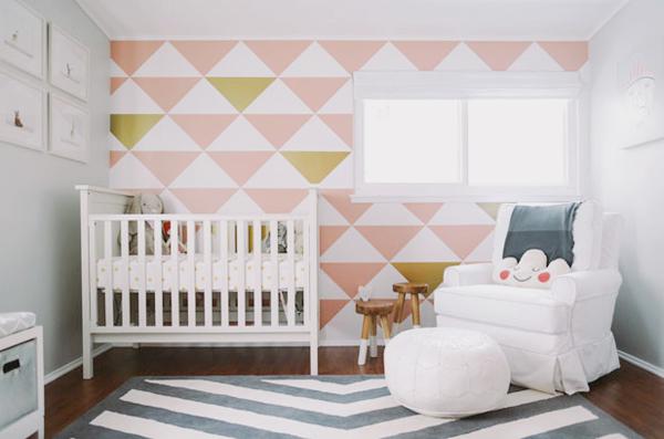 這樣的嬰兒房也太有品味了! 幸福感加分的清新嬰兒房設計!