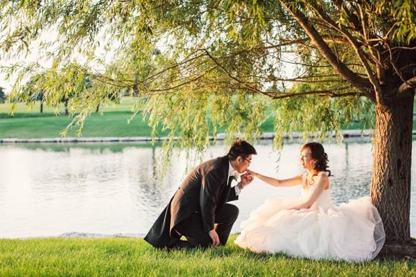 Ruby & Thomas 的芝加哥海外婚禮 (Daran Wu 拍攝)