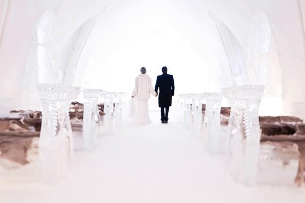 童話冰教堂 魁北克夢幻婚禮 (White Photographie 拍攝)