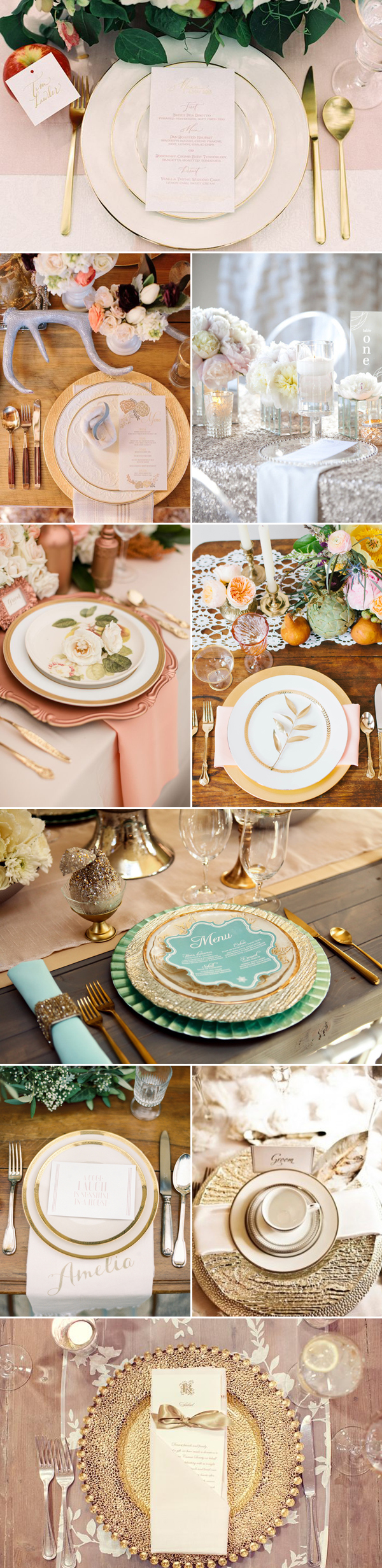 20 Winter Wedding Place Setting Ideas Praise Wedding