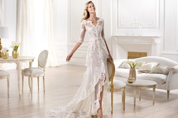 2014 典雅蕾絲婚紗