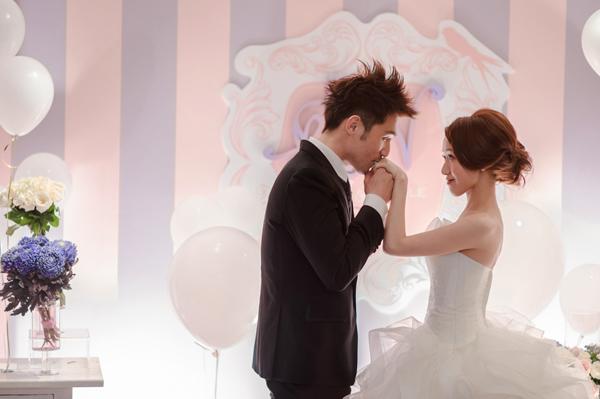 Nicole & Dustin 的粉色系甜蜜雅緻婚禮 (Good Day 拍攝)