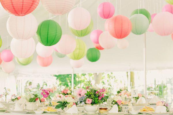 甜美清新 – 花瓣粉紅 + 草原綠 婚禮配色