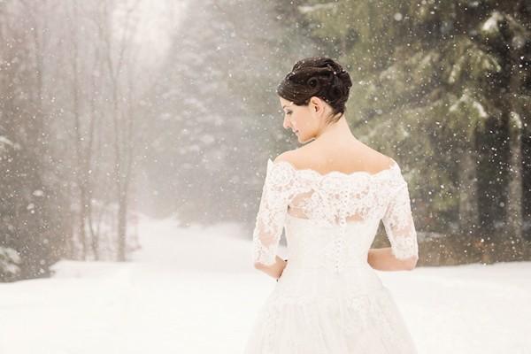 瑞士冬季童話 創意新娘寫真 (Andrea Kuehnis 拍攝)