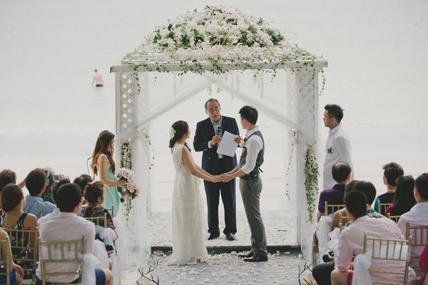 Tiffany藍馬來西亞翡翠湾婚禮(Daren Chong 拍攝)