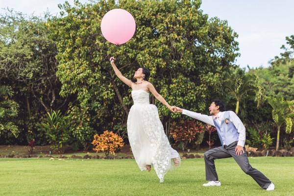 Pinkoi 夏威夷戶外DIY婚禮 (Allen Fu 拍攝)