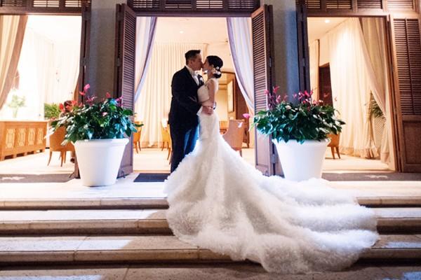 浪漫典雅 夏威夷婚禮 (Derek Wong 拍攝)