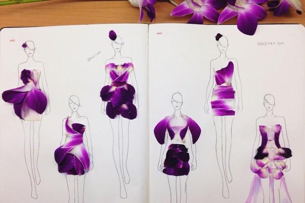 從花瓣到禮服 – 天才花卉服裝設計師Grace Ciao專訪