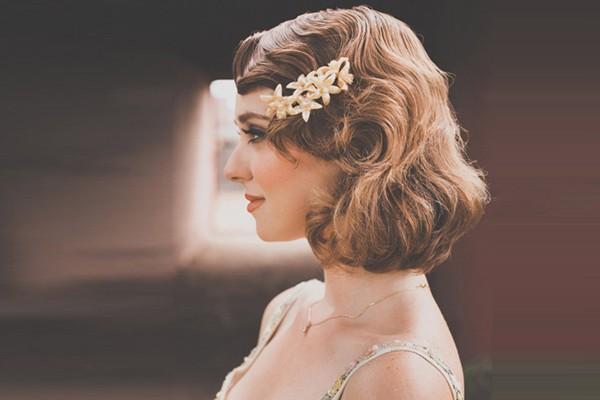 18種唯美復古風新娘妝髮