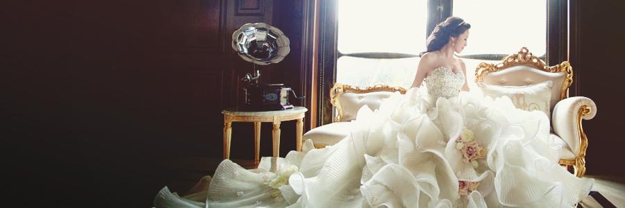 30件讓人過目難忘的時尚婚紗