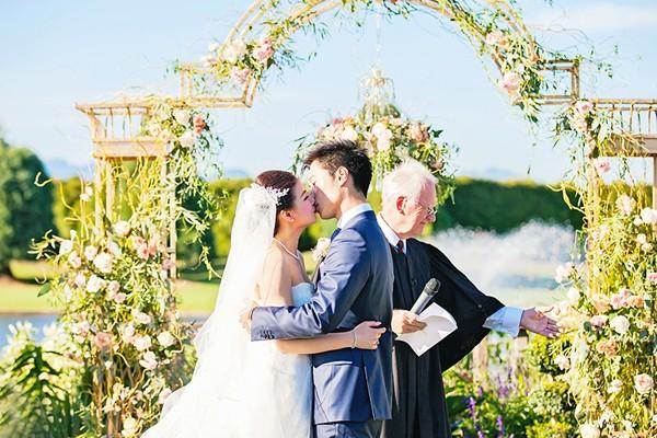 維多利亞風戶外花園婚禮 (Denise Lin 拍攝)