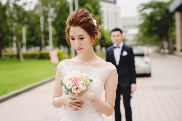 台北世貿廣場首場浪漫戶外婚禮