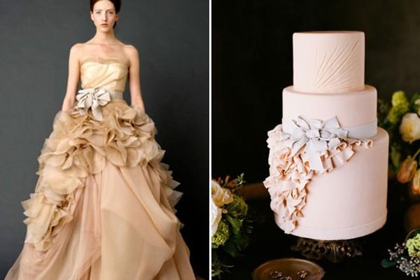 23 個時尚創意「禮服蛋糕」