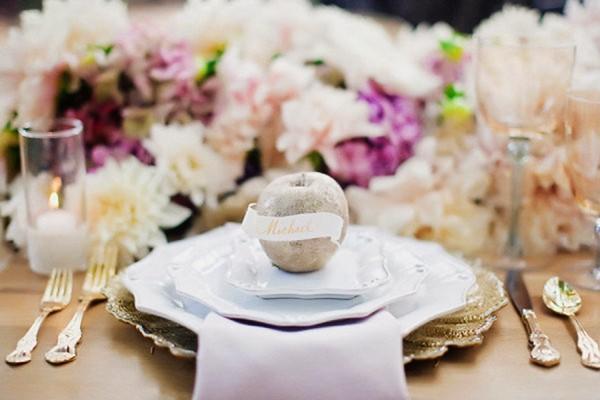 39個浪漫甜蜜婚宴餐桌擺設