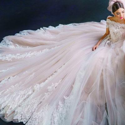迷人的貴族風範! 27件經典夢幻公主風蓬裙婚紗