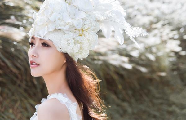 幸福女戰士 個性新娘概念寫真