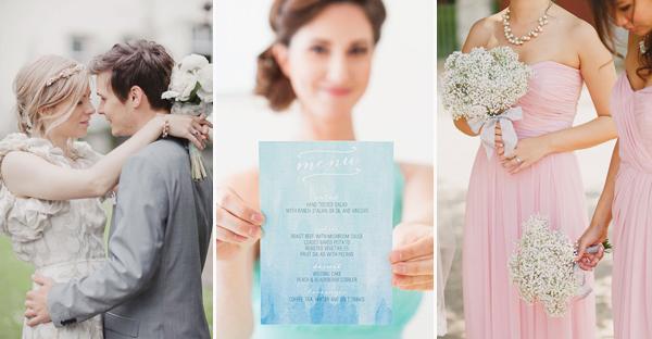 浪漫來襲!2015 春季最流行婚禮色系!