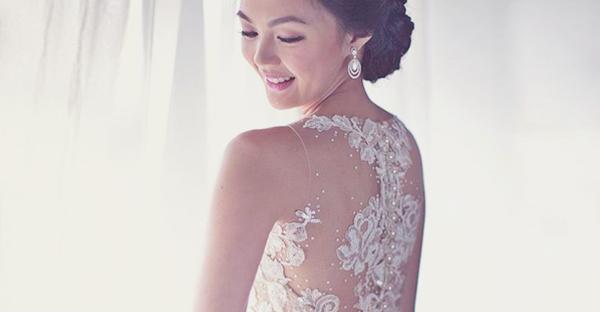 若隱若現的真魅力! 30件穿在真實新娘身上的裸透婚紗