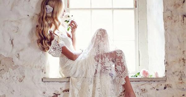 25 件經典浪漫 手工復古蕾絲婚紗