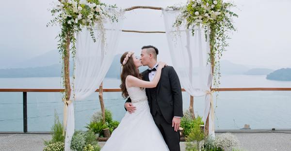 日月潭美式鄉村風戶外婚禮 (Kenny Chi 拍攝)